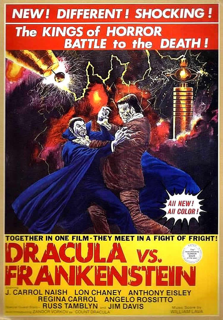 Dracula vs. Frankenstein Dracula vs Frankenstein 1971 Episode 24 Decades of Horror